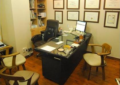 韩国o&young整形外科医院医生的办公室