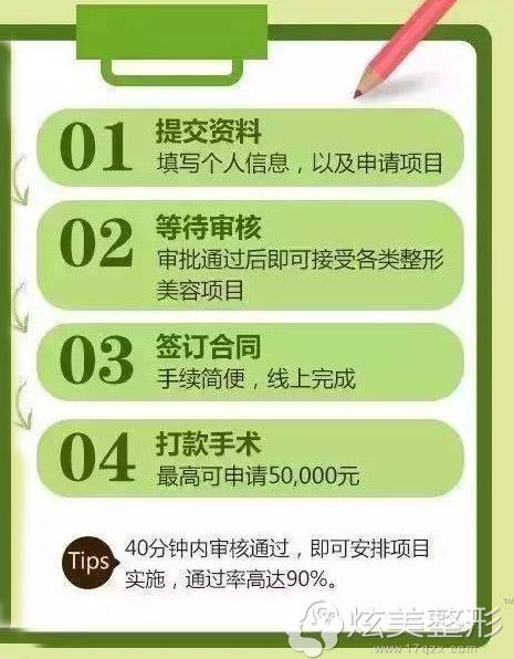 在天津欧菲整形分期4步流程更简单快捷