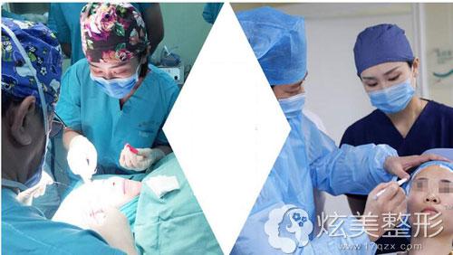 微整过程中的河南整形医院王妍芝医生