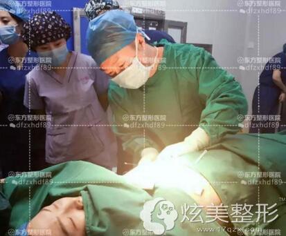 吴振主任隆胸手术过程郑州东方整形
