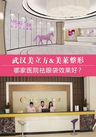 寒假打算在武汉美立方和美莱选一家做祛眼袋整形,求建议