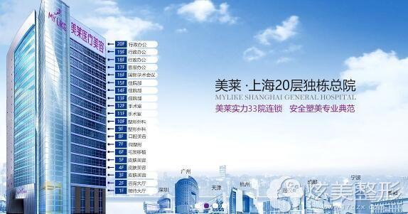 上海激光祛斑推荐美莱整形医院