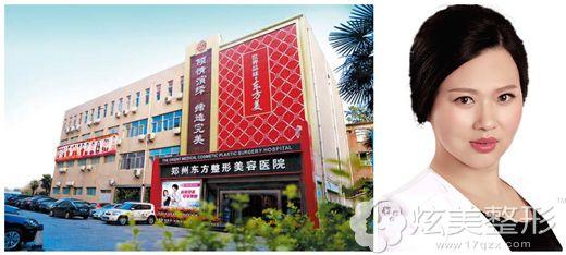 郑州东方整形美容医院环境以及白兆静主任