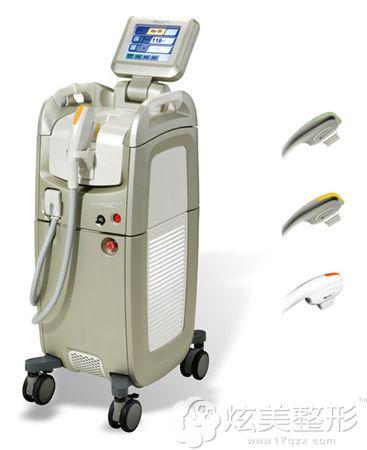 DPL+NIR双波嫩肤治疗使用的仪器