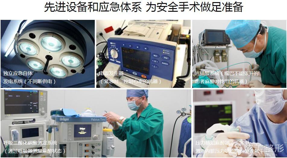 西华拥有全套先进医疗设备和应急体系