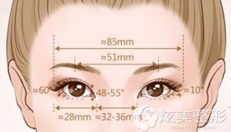 眼部黄金标准