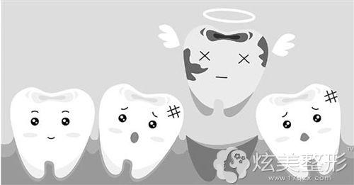 上了年纪之后牙齿会逐渐脱落