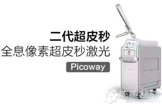 超皮秒PicoWay洗纹身仪器