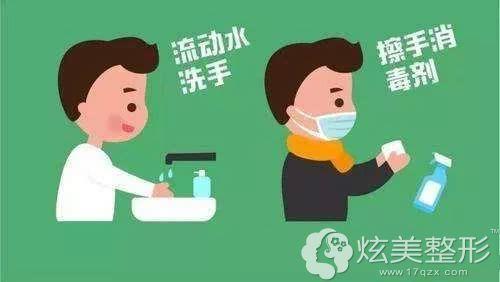 客户到院自觉进行洗手消毒