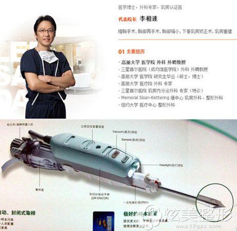 李相达院长和手术所使用的仪器