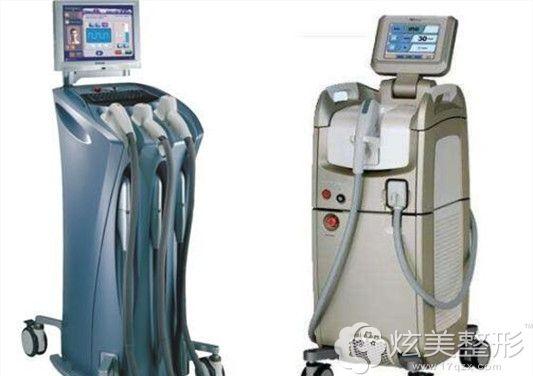 光子嫩肤opt和dpl常用的仪器