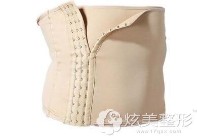 愈合初期穿塑身衣可以抑制术后肿胀