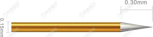 半岛黄金射频微针的针头长度
