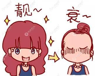 放一波韩国布莱克毛发移植中心做男、女发际线移植的术后对比图